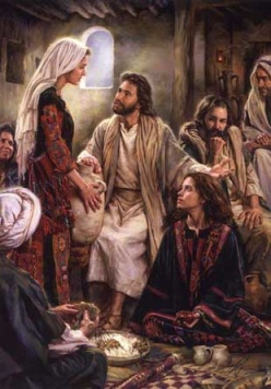 Jesus, Marta e Maria